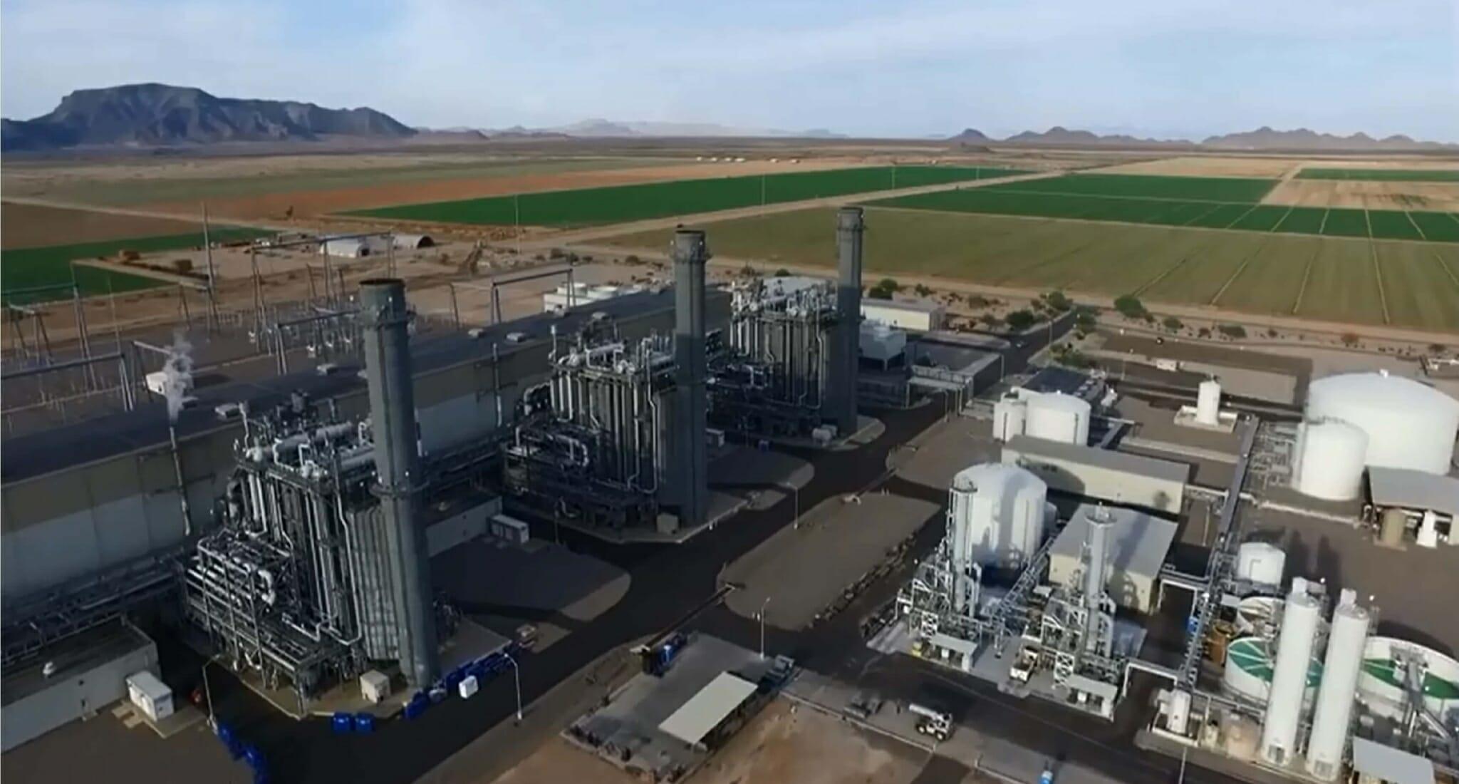 Harquahala Power Plant